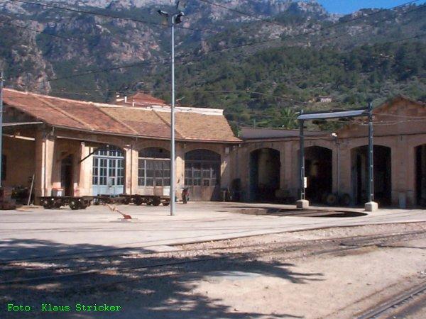 Im Vorbeifahren noch ein Blick auf das Depot der FCS.