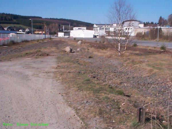 Nördlicher Geländeteil