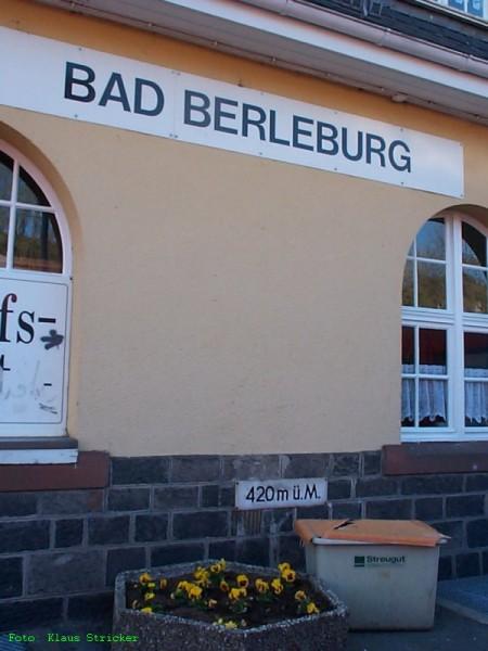 Bad Berleburg, 420 m ü.M.
