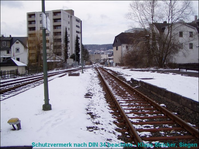 Blick Richtung Wallau / Bad Laasphe