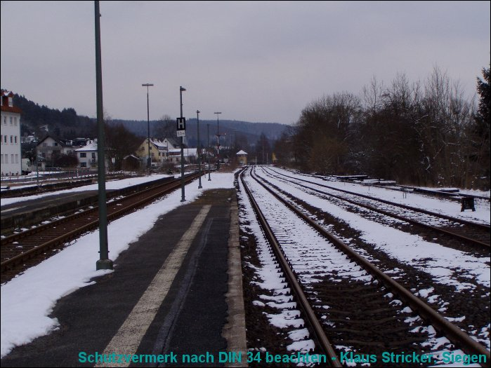 Blick Richtung Cölbe / Marburg