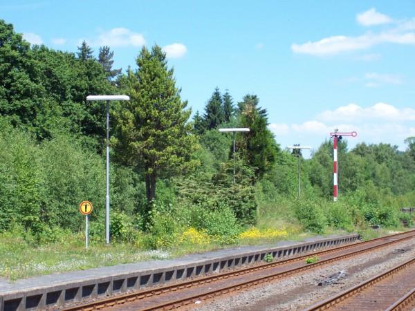 Bahnhof Erndtebrück, Juni 2010, Sonntag