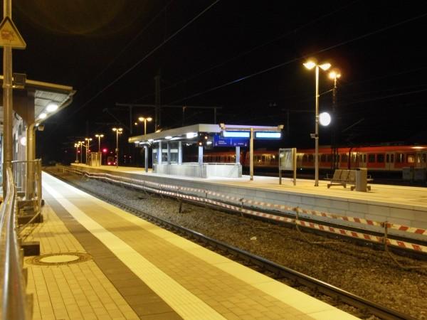 Blick von Gleis 1 in Richtung Köln