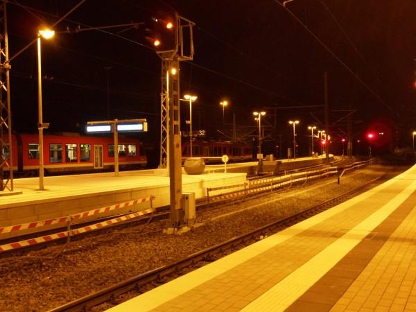 Blick von Gleis 1 in Richtung Siegen